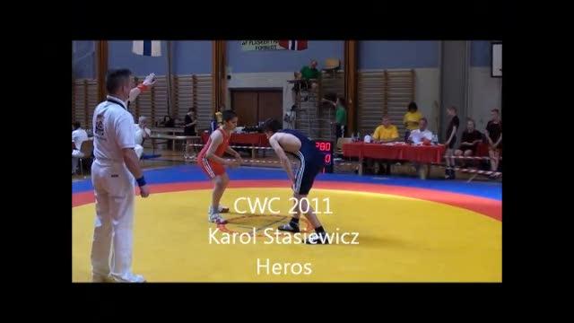 CWC 2011 59. kg. drenge Karol Stasiewicz Heros