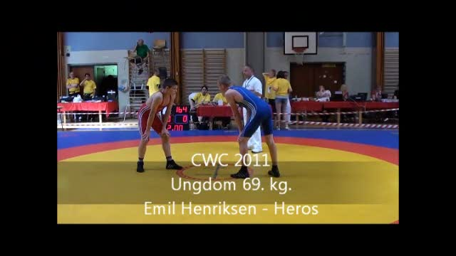 CWC 2011 Emil Henriksen Heros ungdom 69. kg.