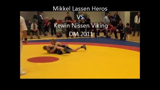 Mikkel Lassen Heros VS Kewin Nissen Viking DM 2011