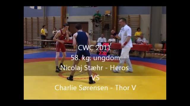 CWC 2011 Nicolaj Stæhr - Heros  VS Charlie Sørensen - Thor V