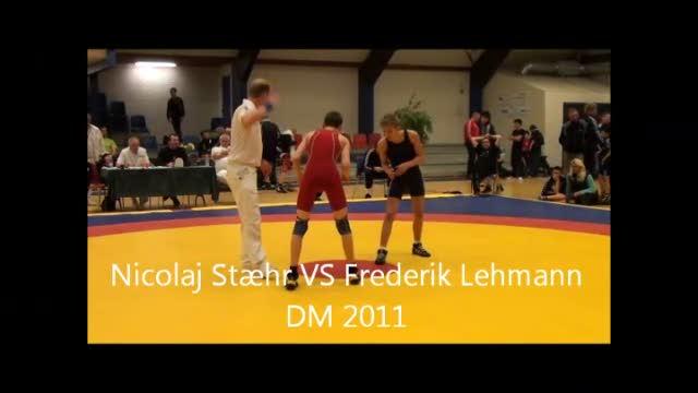 Nicolaj Stæhr VS Frederik Lehmann DM 2011