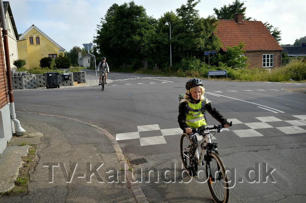 I lørdags skete endnu et færdselsuheld i krydset, nu bliver poroblemerne løst lover kommunen. Foto: Jens Nielsen