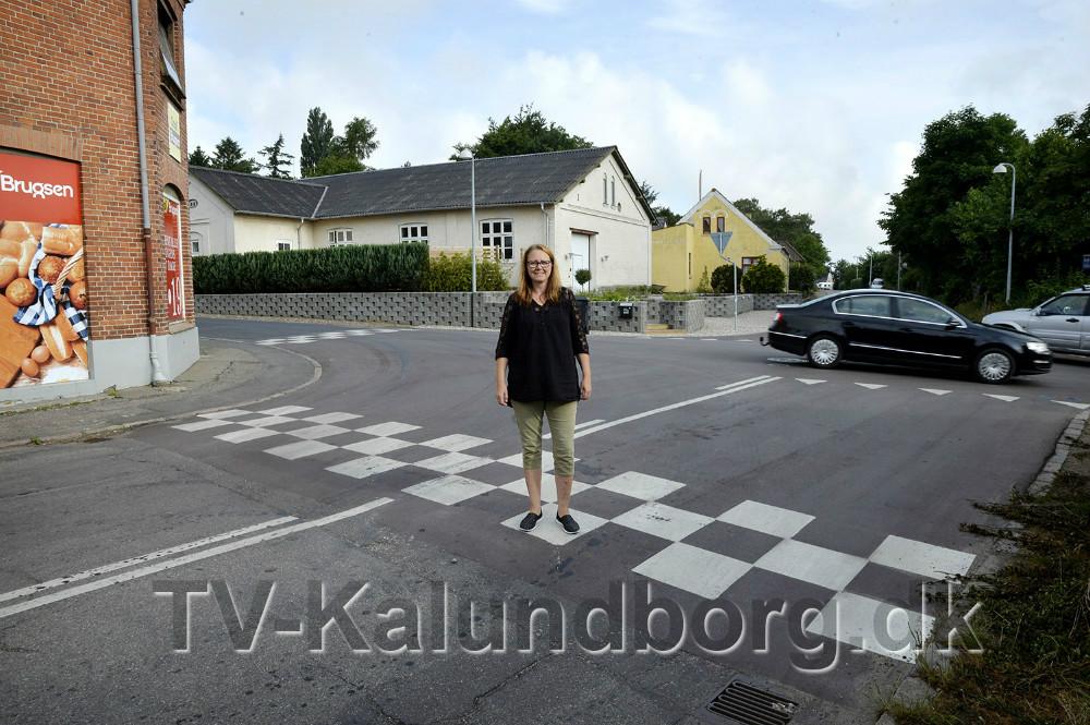 Bettina Dahl Eriksen har kæmpet en kamp med kommunen for at forbedre forholdene. Foto: Jens Nielsen