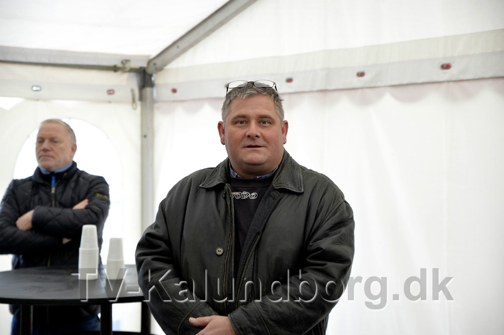 Thomas Andersen, indehaver af TODO A/S holdt tale for gæsterne. Foto: Jens Nielsen