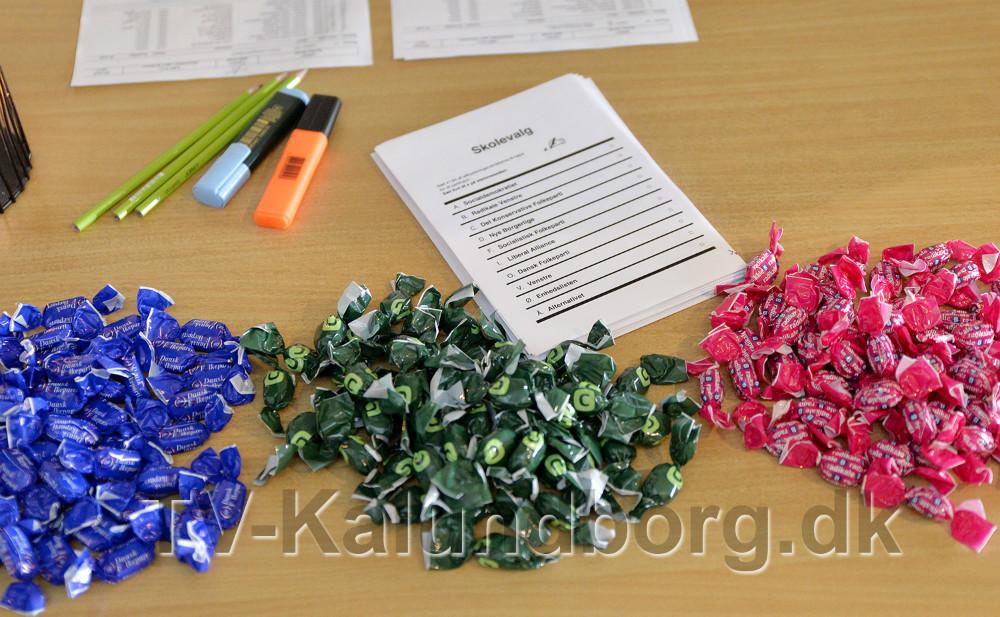 Parti bolcher i alle farver. Foto: Jens Nielsen