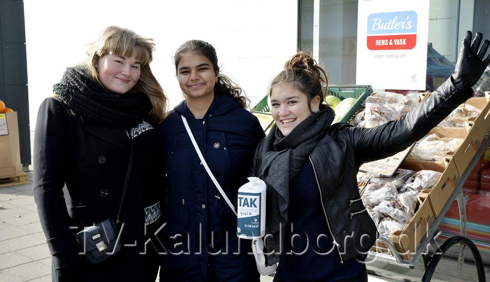 de tre veninder Kim Mathilde Emmelie Jensen, Kristina Frank Rosenberg Jensen og Samira Majid Shanocizadh. Foto: Jens Nielsen