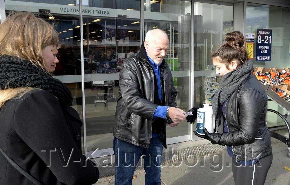 Flere kunder støttede Operation Dagsværk projektet. Foto: Jens Nielsen