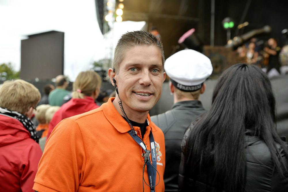 Johnny Elmelund, presseansvarlig, Kalundborg Rock´er. Arkivfoto: Jens Nielsen