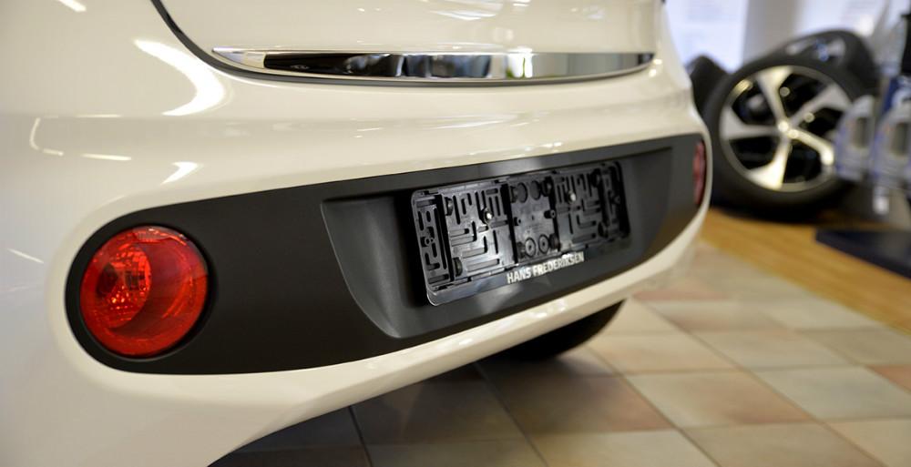 Kofangeren er redesignet på Hyundai i10. Foto: Jens Nielsen