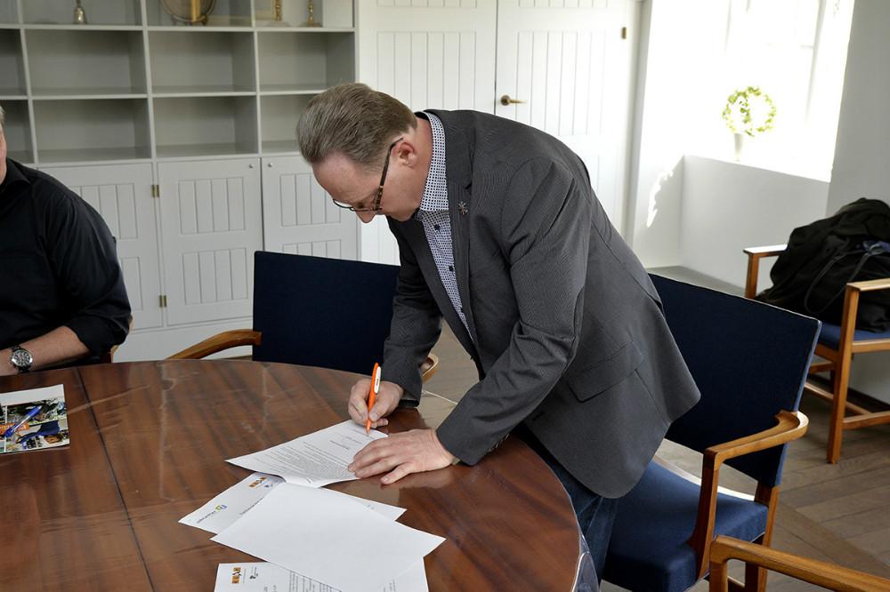 Per Høgsberg, Virksomhedskonsulent-Jobcentret. Foto: Jens Nielsen