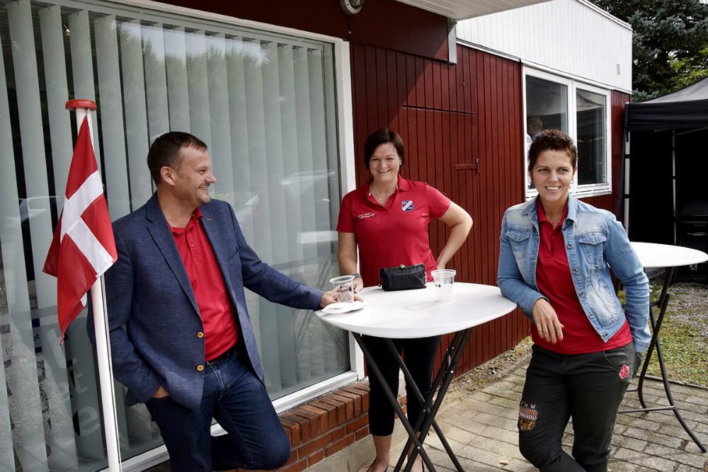 Repræsentanter fra TGU. Foto: Jens Nielsen