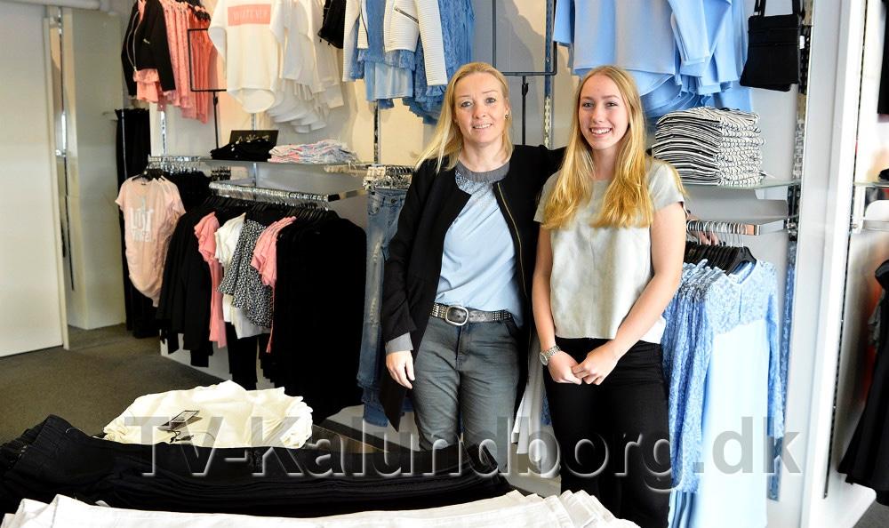 Mor og datter, Annette og Marie Nielsen. Arkivfoto: Jens Nielsen.