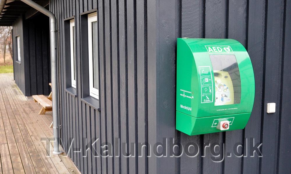 Meny og Stark køber nu hjertestarter, der skal hænge tilgængelig 24/7. Foto: Jens Nielsen.
