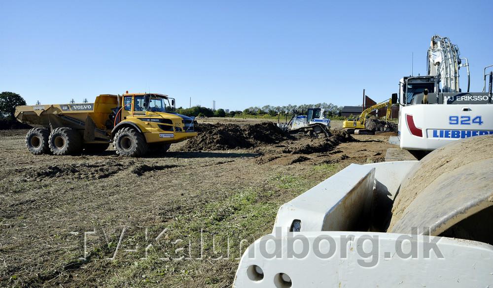 Nyt Novo byggeri i gang på Stejlhøj. Foto: Jens Nielsen