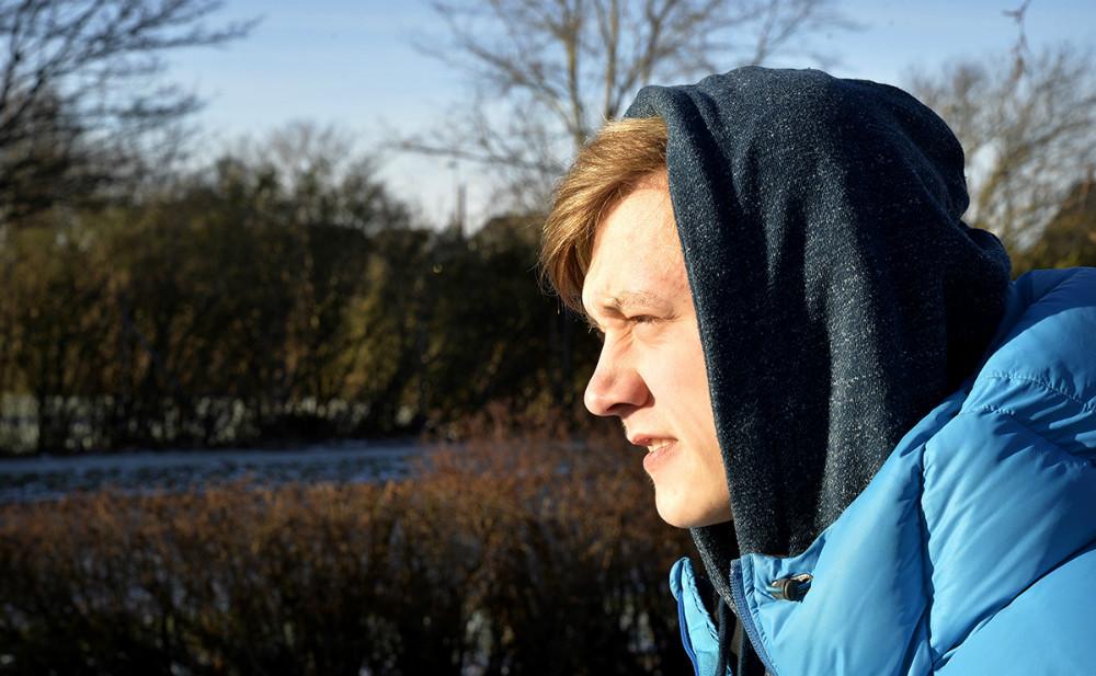 Kasper Larsen er klar til at komme ud af stofmisbruget og væk fra kriminalitet. Foto: Jens Nielsen.