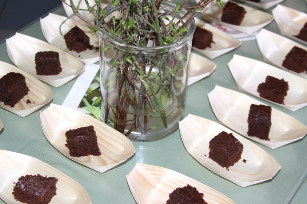 Lækker kage, formet som cykelsejl. Foto: Gitte Korsgaard