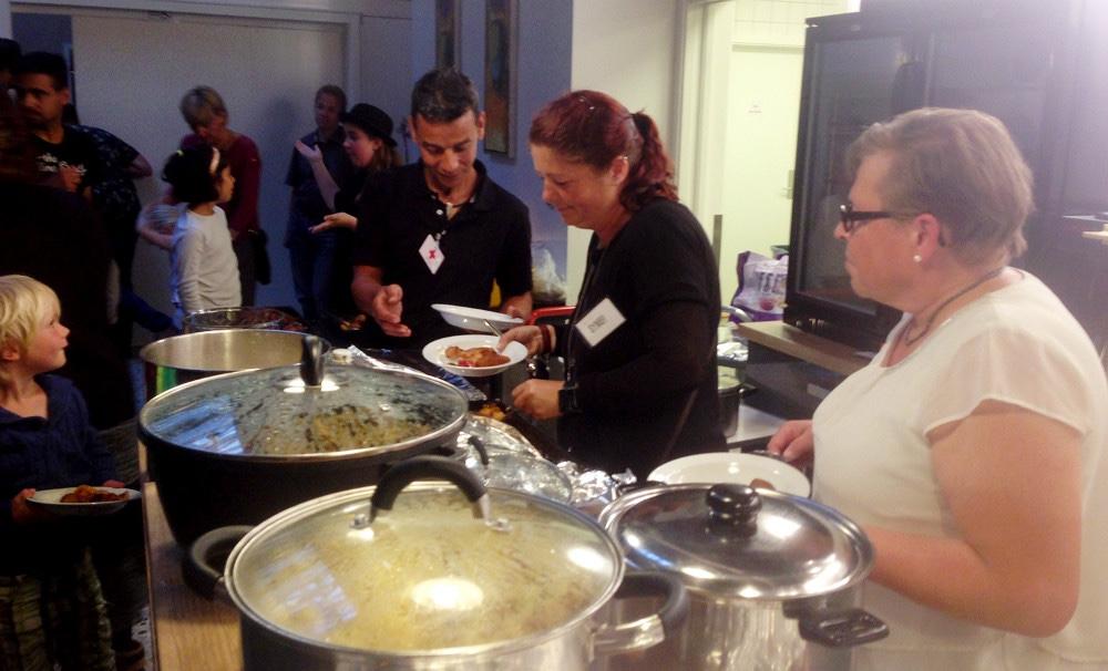 Folkekøkken i Café Solsikken i form af Påskefrokost den 10. april.