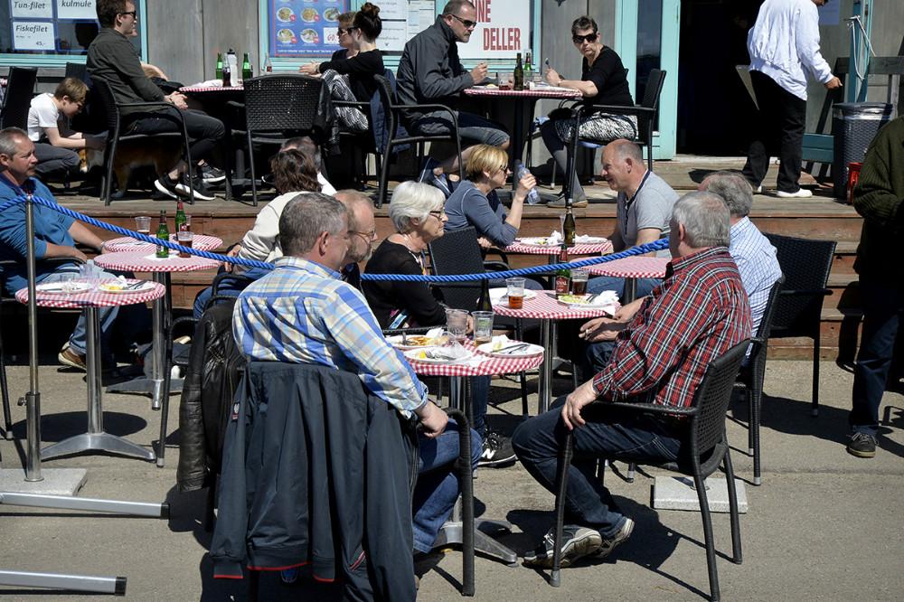 Forårsstemning på Reersø Havn. Foto Jens Nielsen