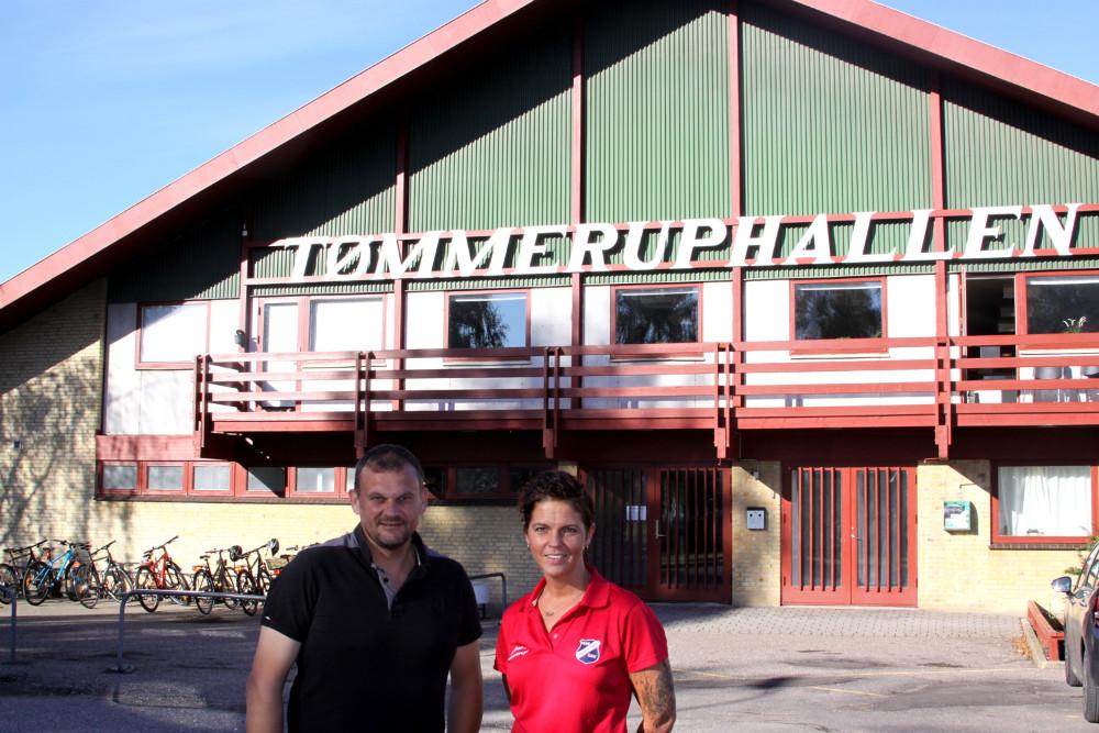 Formand for bestyrelsen iTGU, Søren Gammelby Jensen sammen med Trine Grue Werth, der nu også er foreningskoordinator.