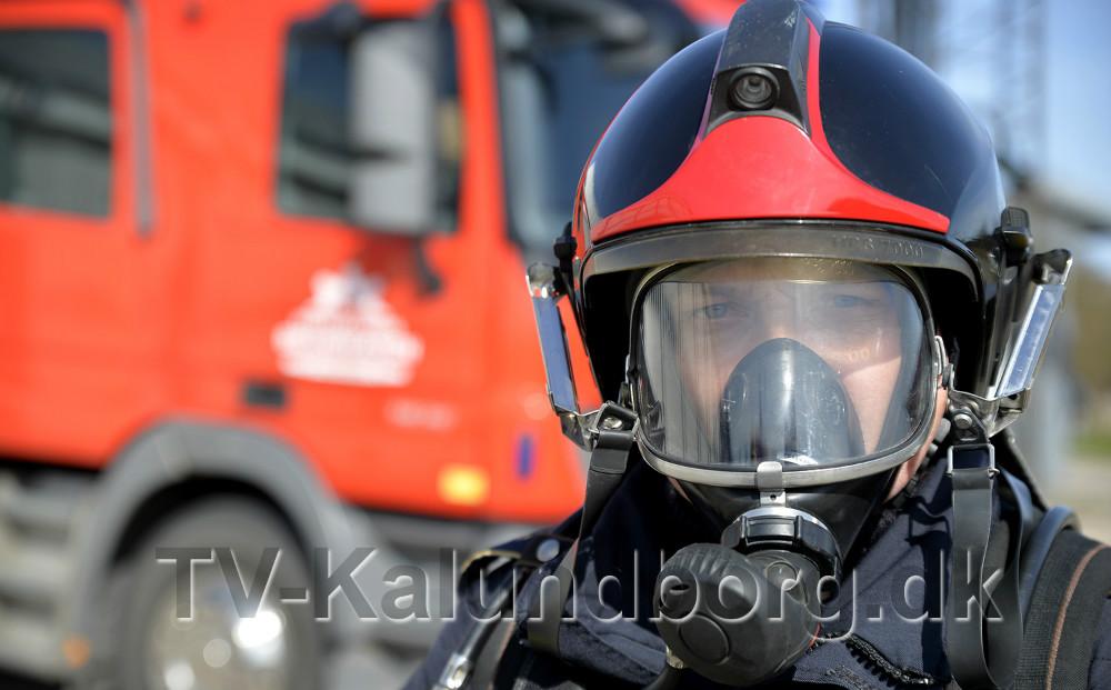 Ulrik Kristian Hansen har været brandmand i 22 år. Foto: Jens Nielsen.