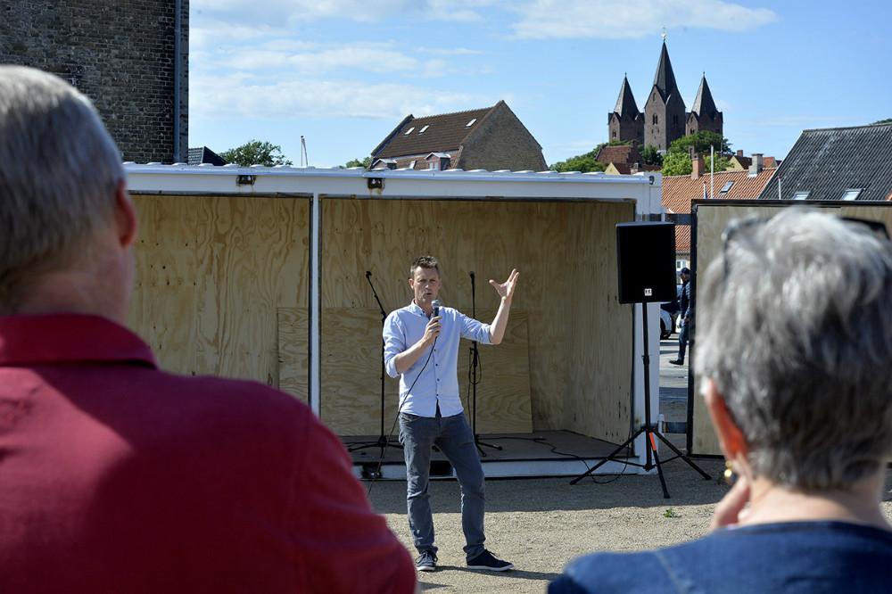 Dennis Ravn, projektleder ved Kalundborg Kommune. Foto: Jens Nielsen