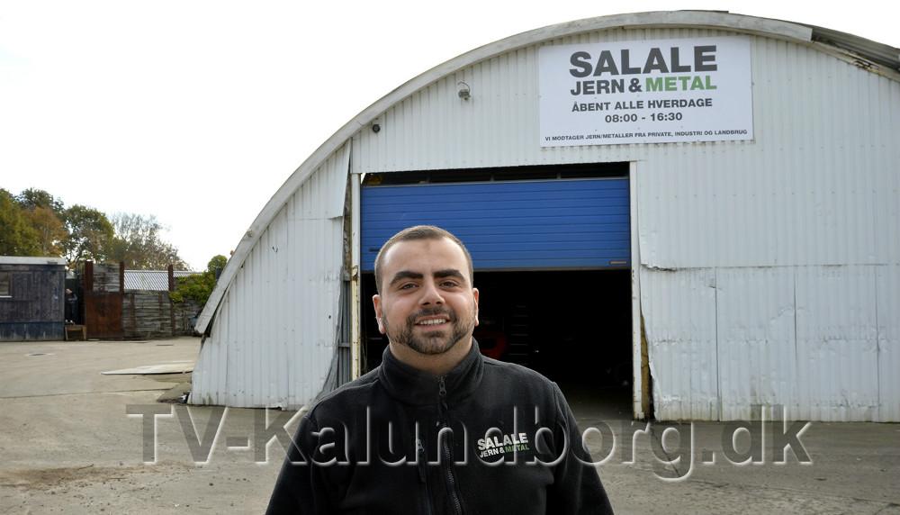 Mohamad Salale føler sig godt behandlet af Kalundborg Kommune. Foto: Jens Nielsen