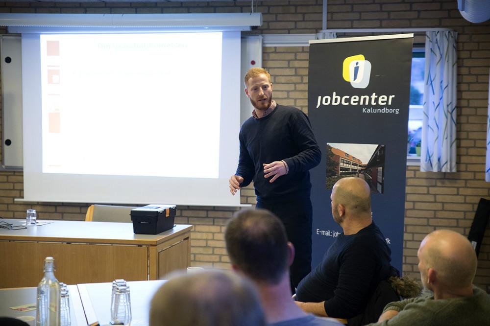 Christian Scharff, jobkonsulent. Foto: Jens Nielsen