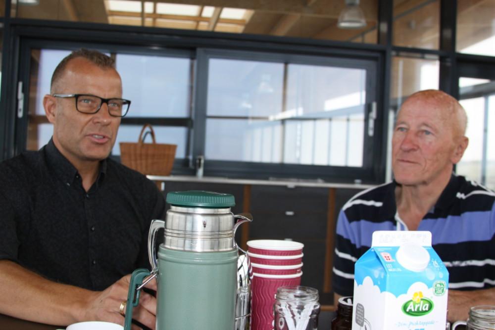 Christian Møller og Mogens Anholm. Foto: Gitte Korsgaard.