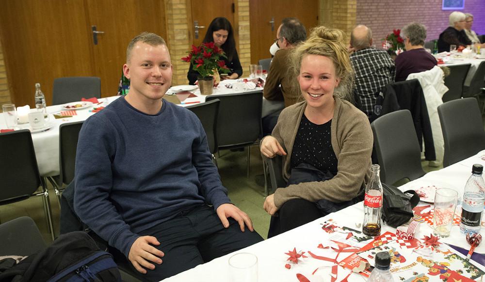Bjarke Primdal-Bengtson og Eva Høgh Iversen er begge tilflyttere fra Århus. Foto: Jens Nielsen