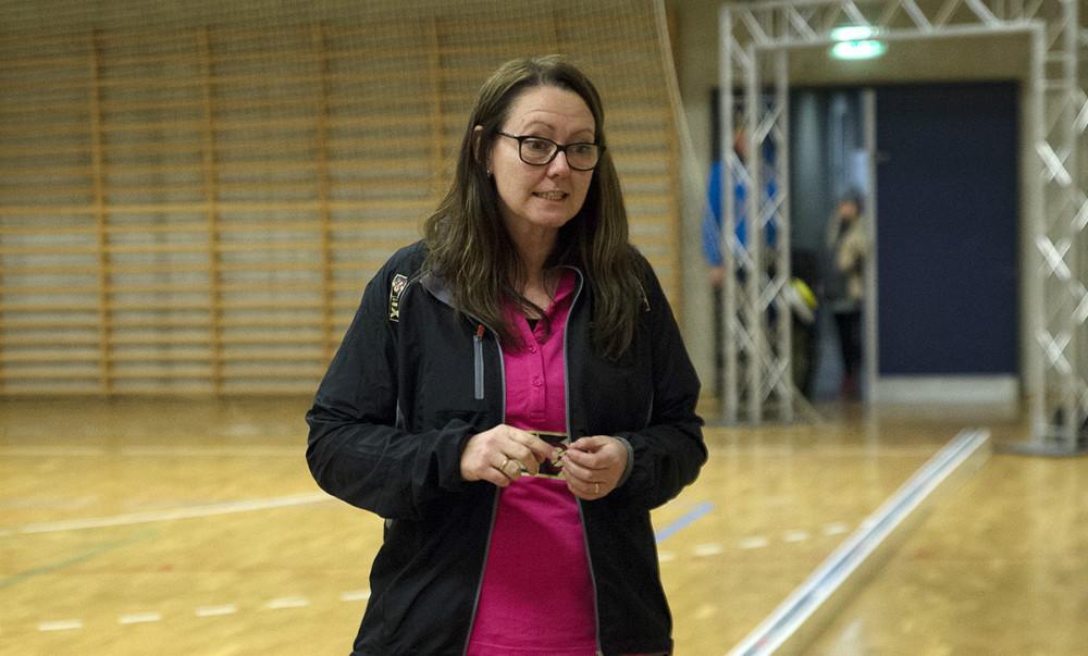Formand for Kalundborg Hockey Klub Bettina Eriksen. Foto: Jens Nielsen