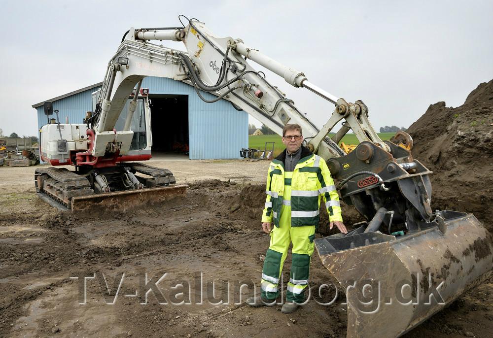 Niels Kæmpe åbner dørene til hele firmaet på lørdag. Foto: Jens Nielsen