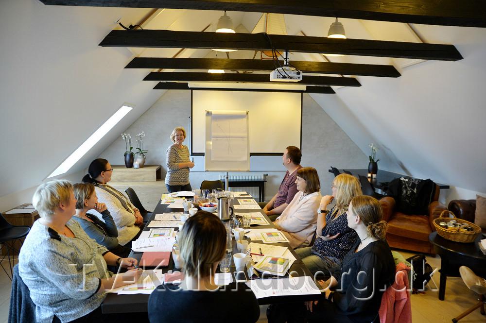 Gæster i mødelokalet. Foto: Jens Nielsen