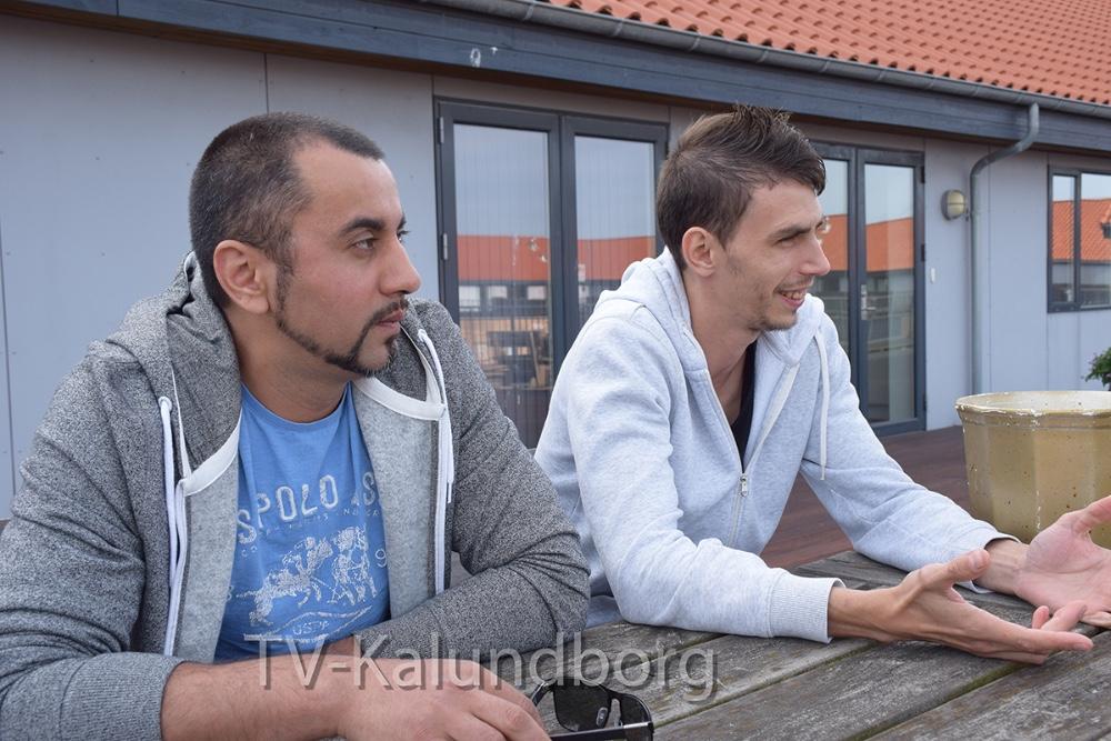 Vasilica Puricoi og Alexandru Baluta er begge fra Rumænien, men har arbejdet og boet i Danmark siden 2013. Foto. Gitte Korsgaard.