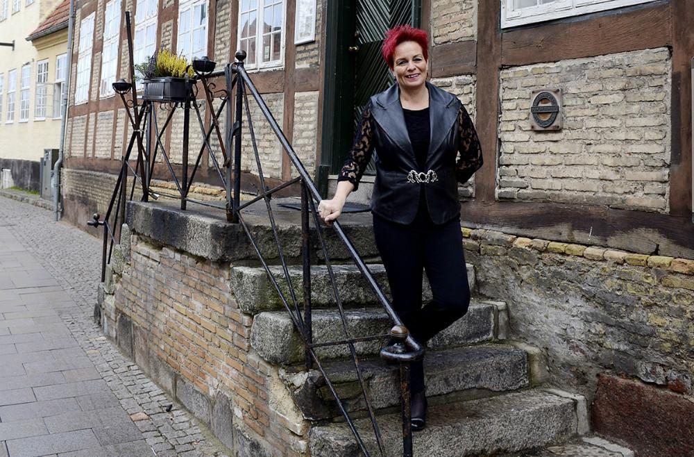 Charlotte Nielsen, Hotel Ole Lundsgaard. Foto: Jens Nielsen