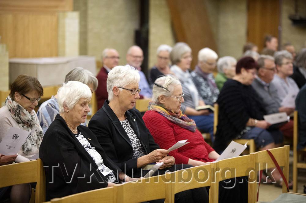 De mange ildsjæle var inviteret til festgudstjeneste. Foto: Jens Nielsen