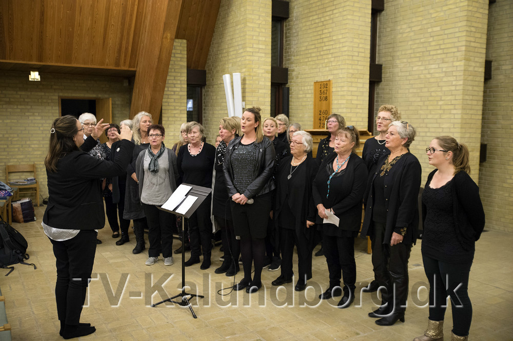Heartbeat underholdte i Nyvangskirken. Foto: Jens Nielsen