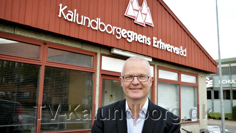 Hans Søie ny direktør i Kalundborgegnens Erhvervsråd. Foto: Jens Nielsen