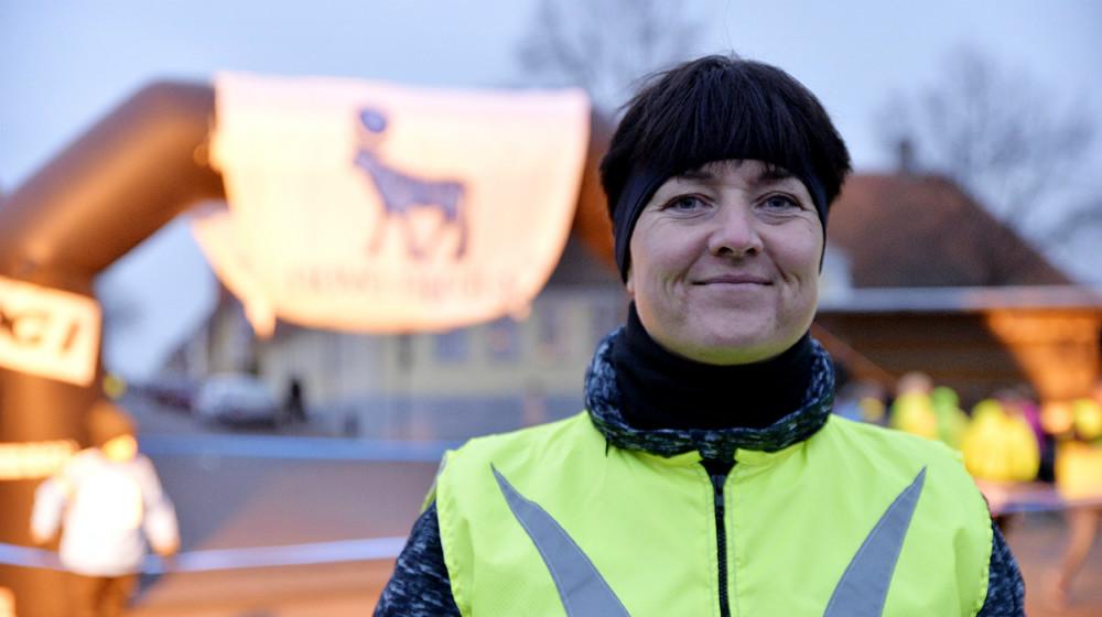 Sussi Lodall havde en helt særlig grund til at være med. Foto: Jens Nielsen