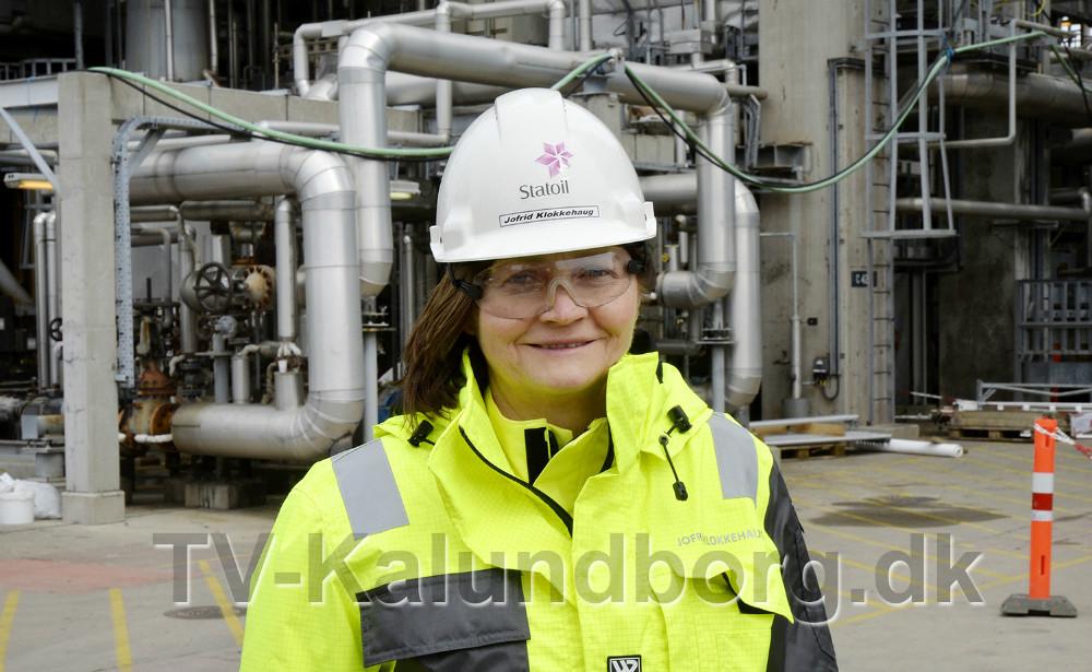 Adm. direktør Jofrid Klokkehaug, Statoil. Foto: Jens Nielsen