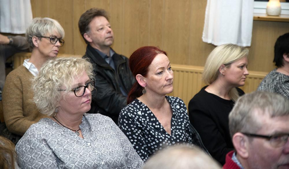 Forrest Gitte Johansen (V), formand for Børn- og Familieudvalget, sammen med Hanne Dollerup, direktør, Kalundborg Kommune. Foto: Jens Nielsen