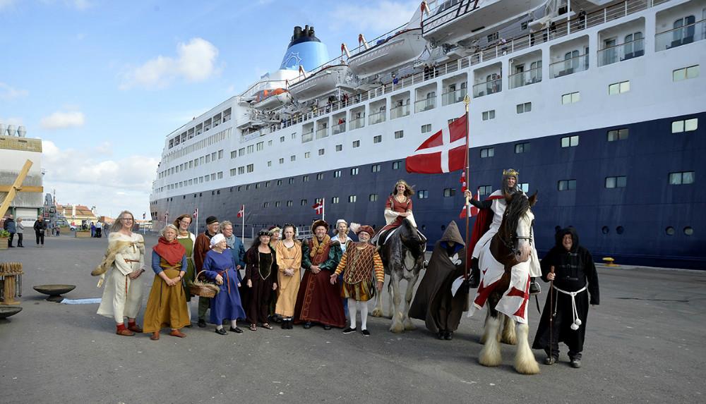 Deltagerne i det flotte optog. Foto: Jens Nielsen