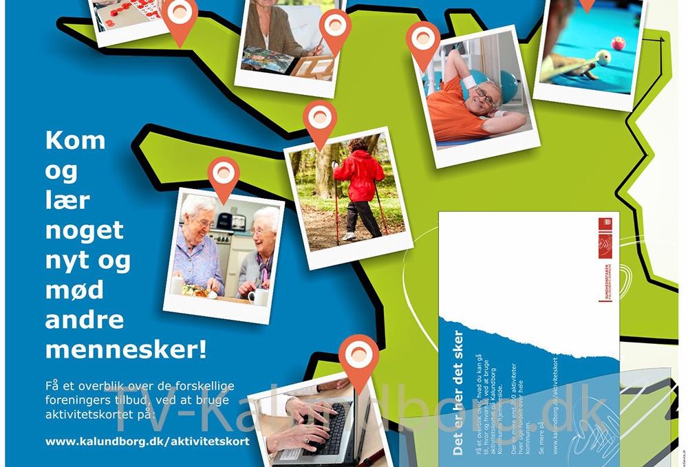 Kalundborg Kommunes nye online aktivitetskort.