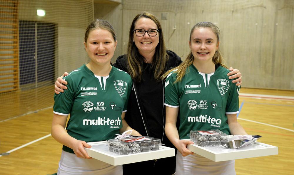 Prisvinderne sammen med formand Bettina Dahl Eriksen. Foto: Jens Nielsen