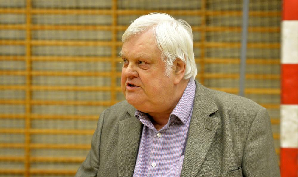 Poul Johan Jensen havde 10.000 kr. med til klubben. Foto: Jens Nielsen