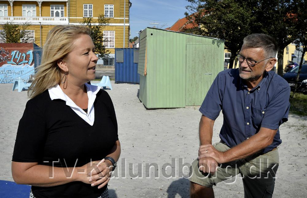 Malene Grandjean, her sammen med Troels Birk Kristoffersen. Foto: Jens Nielsen