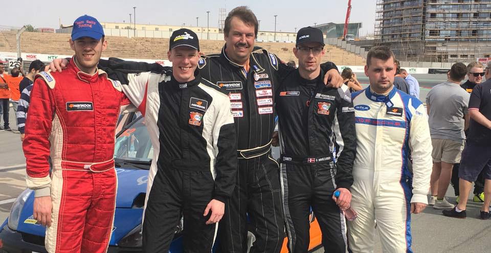 Peter Obel sammen med det team kollegaerne, det er Peter i midten