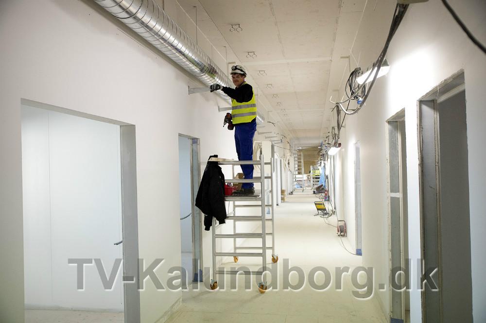 Håndværkerne er i gang. Foto: Jens Nielsen