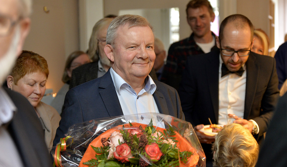 Bjarne Robdrup, 40-års jubilæum. Foto: Jens Nielsen