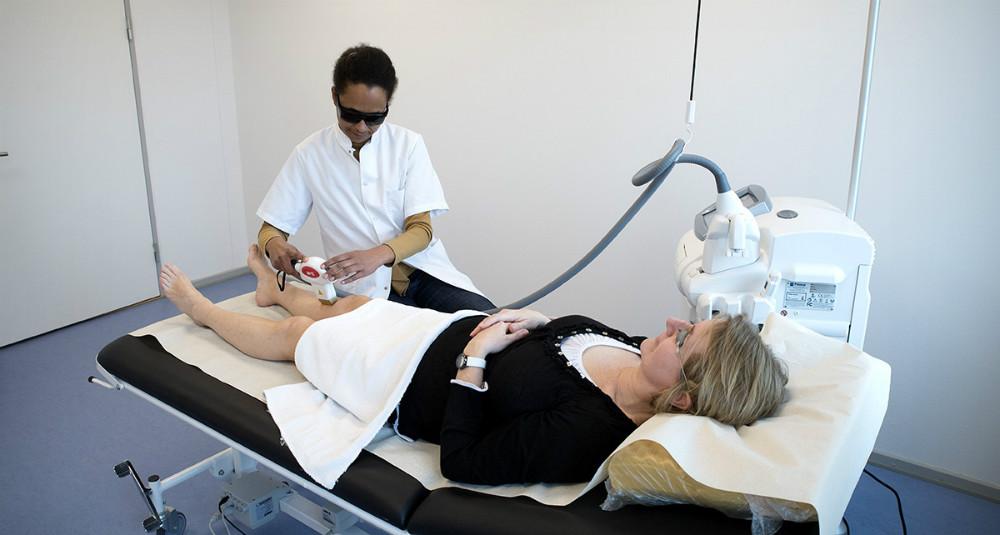 Deirdre Nathalie Dufour, indehaver af Hudklinikken Kalundborg, har udvidet med en kosmetisk afdeling. Foto: Jens Nielsen
