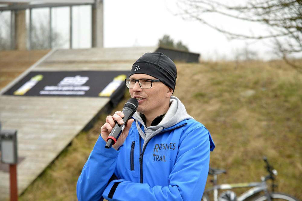 Steen Walter, der oprindeligt er fra Kalundborg, men som i dag bor i København, har besluttet at gentage succesen fra i år med trailløb på det naturskønne Røsnæs. Foto: Jens Nielsen